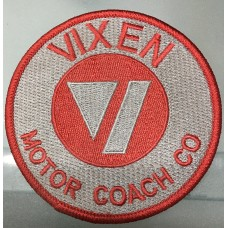 Vixen Motor Coach Embroidered Patch